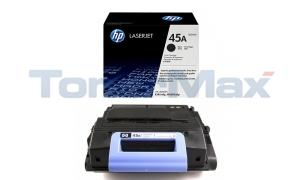 HP LASERJET 4345 PRINT CART BLACK (Q5945A)