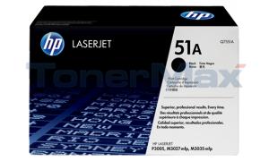HP LASERJET P3005 TONER BLACK 6.5K (Q7551A)