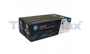 HP COLOR LJ CP2025 CM2320 PRINT CART BLACK DUAL PACK (CC530AD)