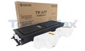 KYOCERA MITA KM-2540 TONER KIT (TK-677)