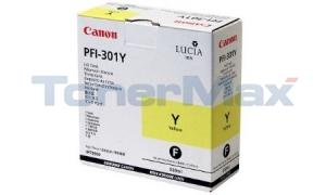 CANON PFI-301Y INK YELLOW 330ML (1489B001)