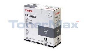 CANON PFI-301GY INK GRAY 330ML (1495B001)