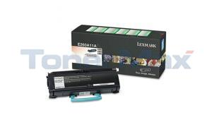 LEXMARK E260D TONER CARTRIDGE BLACK RP (E260A11A)