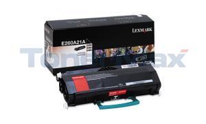 LEXMARK E260D TONER CTG BLACK (E260A21A)