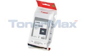 CANON PFI-106BK IMAGEPROGRAF IPF6300 INK BLACK 130ML (6621B001)