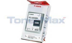 CANON PFI-106MBK IMAGEPROGRAF IPF6300 INK MATTE BLACK 130ML (6620B001)