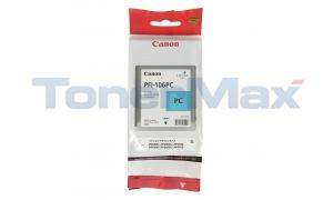 CANON PFI-106PC IMAGEPROGRAF IPF6300 INK PHOTO CYAN 130ML (6625B001)