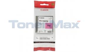 CANON PFI-106PM IMAGEPROGRAF IPF6300 INK PHOTO MAGENTA 130ML (6626B001)