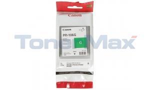 CANON PFI-106G IMAGEPROGRAF IPF6300 INK GREEN 130ML (6628B001)