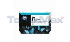 HP DESIGNJET 1050C NO 80 INK BLACK 350ML (C4871A)