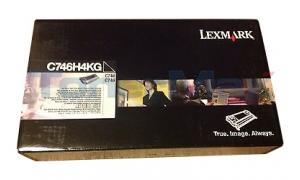 LEXMARK C748 RP TONER CART BLACK 12K TAA (C746H4KG)